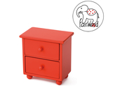 Dollfurniture Drawer Mini (red)