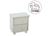 Dollfurniture Drawer Mini (white)