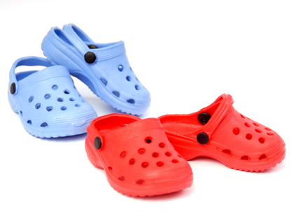 Doll Shoes Foppa (35cm) red/blue