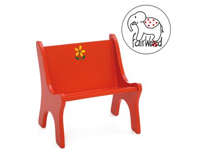Dockmöbel soffa Mini (röd)