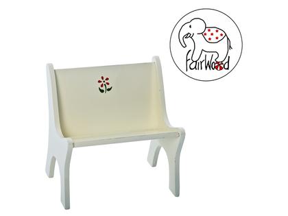 Dockmöbel soffa Mini (vit)