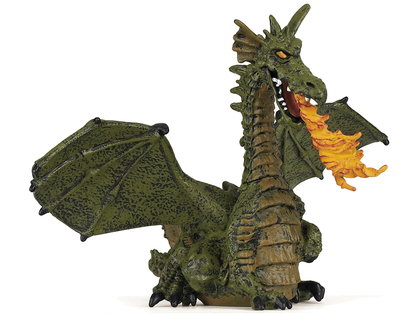Drake Bevingad (grön)
