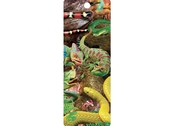 Bookmark 3D  Curious creatures