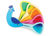 Game 'Peacock colors'
