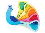 Lek 'Påfågel-färger'