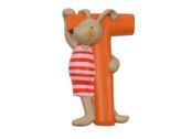 Letter T (orange)