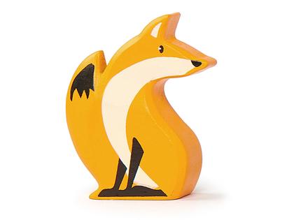 Wood fox in wood