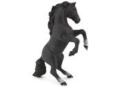 Häst stegrande (svart)