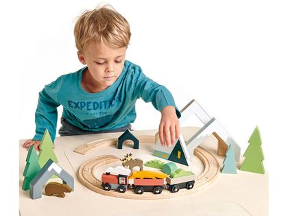 Train set accessories Spruce