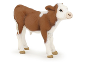 Calf Simmental (brown/white)
