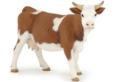 Cow Simmental (brown/white)