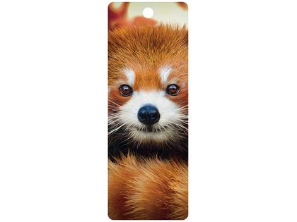 Bookmark 3D Baby red panda
