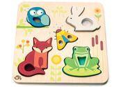 Puzzle 'Touchy feely animals'
