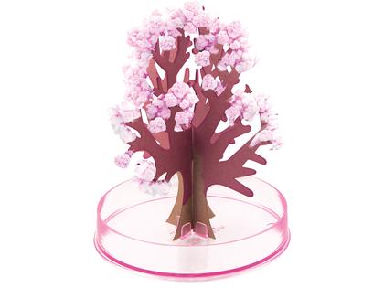 Magiskt träd kristaller rosa