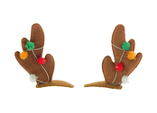 Hair clips 'Happy Reindeer'
