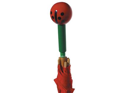 Umbrella Lady Bug