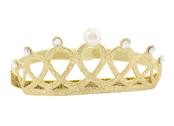 Hårband 'Krona' guld