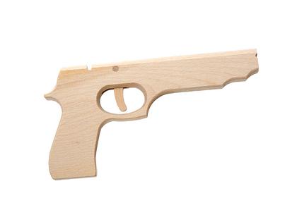 Pistol med avtryckare
