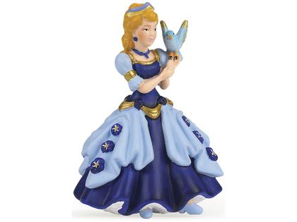 Prinsessa med Fågel (blå)