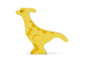 Dino Parasaurolophus in wood