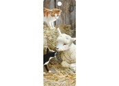 Bokmärke 3D Kattungar & Lamm