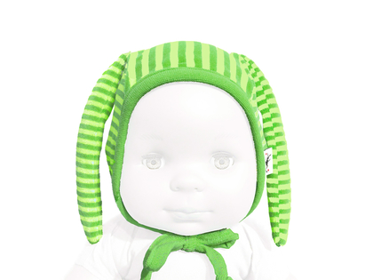 Hat 'Krabat' organic cotton (green/lime)