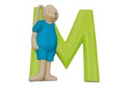 Bokstav M (lime)