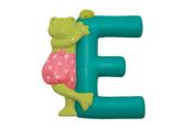 Bokstav E (turkos)