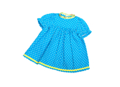 Doll dress 'Baby' (30cm) turqouise