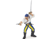 Pirate with Gun (blue)