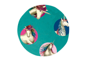 Ball rubber 'Unicorn' small