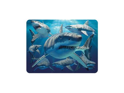 Magnet 3D Great white sharks