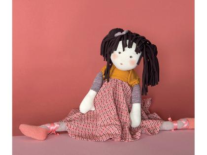 Doll 'Les Rosalies' Violette