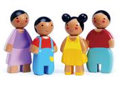 Doll house family 'Petal'