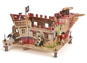 Pirate fort model kit