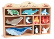 Shelf with coastal animals