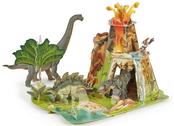Dinosaur landscape model kit