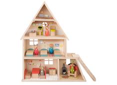 Dockskåp 'La Grande Famille' med möbler
