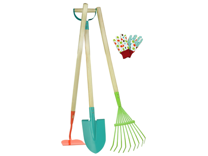 Trädgårdsredskap set