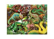 Card 3D Curious creatures
