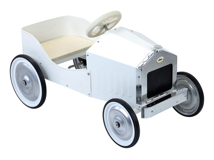 Pedal car 'Antique' white