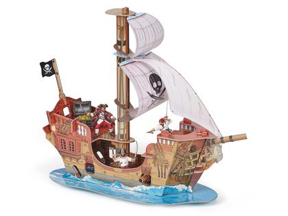 Pirate ship building kit