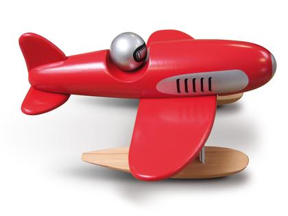 Flygplan 'Hydro' rött