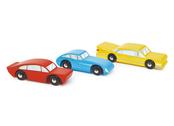Retro cars 3 pcs