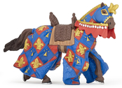 French Lily Horse (blue)