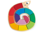 Pussel Orm form & färg