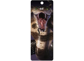 Bookmark 3D Cobra