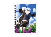 Notebook 3D Curious Cow small