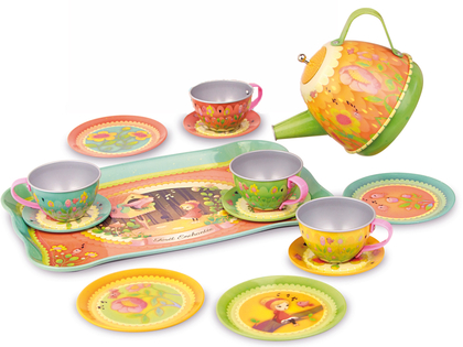 Tea set 'Dinette' with music