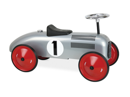 Scoot-car 'Vintage' silver